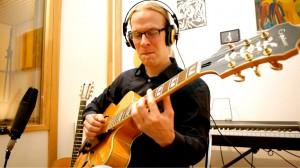 Michael Behm während einer Aufnahme.Photo: Stephan Pfaff